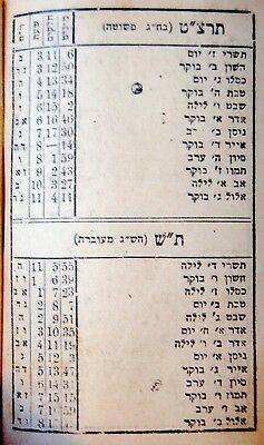 1938 POLISH MINIATURE Palestine BEZALEL Jewish OLIVE WOOD Hebrew SIDDUR  Judaica
