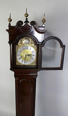 A Mahogany Grandmother Clock By John Walker London 4
