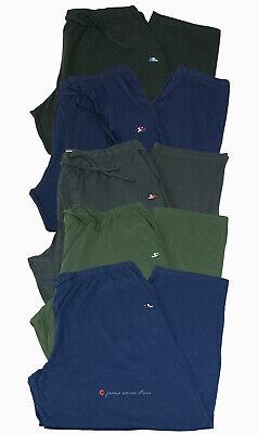 Pantalone tuta uomo FELPA cotone leggero estivo elastico TAGLIE FORTI 4 colori 4