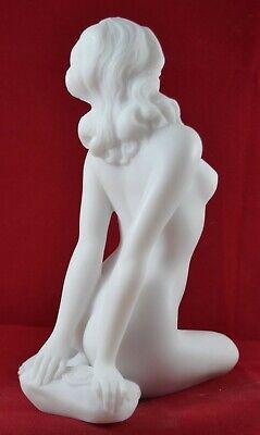 Nude Female Greek Muse Goddess Venus Aphrodite Statue Marble free shipping 5