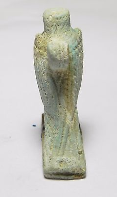 Zurqieh -Af953- Ancient Egypt - Faience Amulet Of A Falcon , 664 - 332 B.c 3