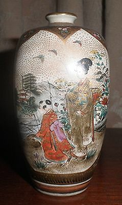 RARE STUNNING ANTIQUE JAPANESE SATSUMA MEJI PERIOD c. 1800's VASE 11