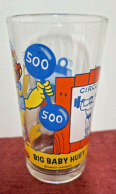 Vintage 1970/'s Pepsi collector series Big Baby Huey 10 ounce drinking glass