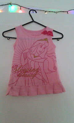 Girls Next Trousers H&M Shorts Disney Sleeping Beauty Top Ages 4 5 6 Year BUNDLE 9