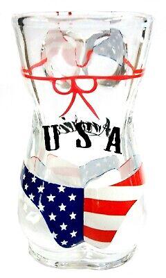 Full Body USA Flag Bikini Shot Glass 2