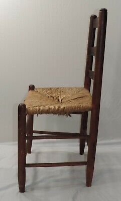 Hitchcock Chair Rush Seat With Stenciling 1930-1940S 4