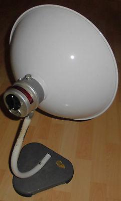 arzt tisch / wand lampe wärme alt top deko strahler thermolite super 60 / 70er 4