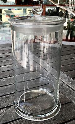 Präparateglas / Gewürz- / Nudelglas mit eingeschliffenem Kugelknopfdeckel - ALT1