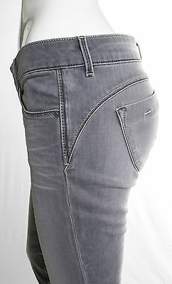 Jeans Gas Donna Beautiful Body Fit  Slim Superstretch Grigio Invecchiato 6