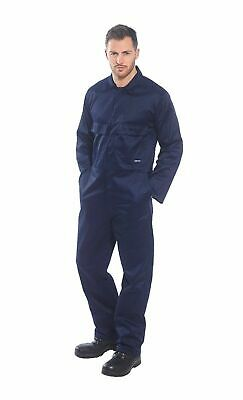 Portwest S999 Euro Polycotton Multipocket Work Coverall with Front Snap Closure 3