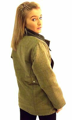 be0f1039d163d ... Campbell Cooper Ladies Tweed Shooting Fishing Riding Hunting Jacket  Green New 3