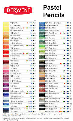 Derwent Professional Pastel Pencils 12 Tin Set of Assorted Colours 3