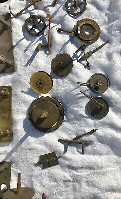 A Very Large Assortment Of Longcase Grandfather Clock Parts 5