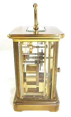 Wonderful Swiss Brass Carriage Clock : MATTHEW NORMAN LONDON SWISS MADE 7 • EUR 410,33