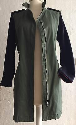 produits de qualité vente à bas prix styles de mode VESTE STYLE MILITAIRE Zara Longue Taille L - Vert Kaki femme army jacket  coat
