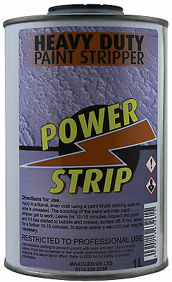 Power Strip Best Industrial Strength Heavy Duty Paint Stripper Remover 1Litre 8