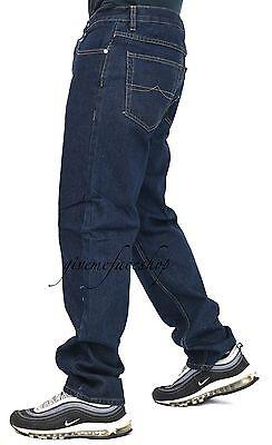 1ebd1238 ... Mens Georgio Peviani jeans, indigo g denim, straight, loose fit hiphop  star pant