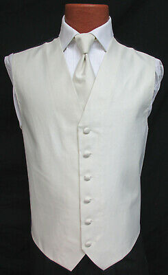 Mens Forest Green Juniper Armanno Fullback Vest w// Tie Perfect for Prom Wedding