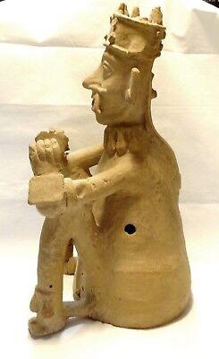 Very Large Figure Veracruz - Pre-columbian 500 ad - Ancient Remojadas Figure 10