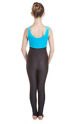Catsuit Vest Top Plain Front - Crushed Velvet + Black Lycra (#GEMMA) 2