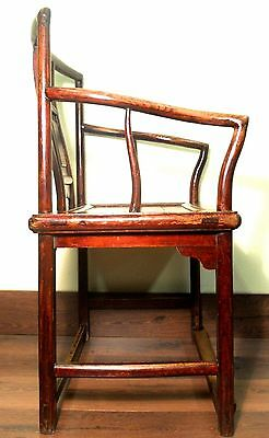 Antique Chinese Ming Arm Chairs (5293), Circa 1800-1849 12