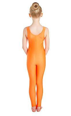 Lycra Catsuit Sleeveless Plain Front - Ballet Colours  (#GEMMA) 2