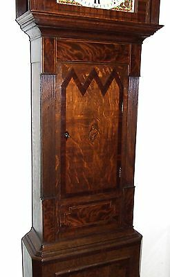 Antique ROCKING FATHER TIME Longcase Grandfather Clock : HAY WOLVERHAMPTON 9