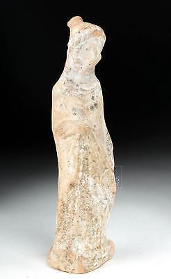 Hellenistic Greek Terracotta Statuette of Woman Lot 26B