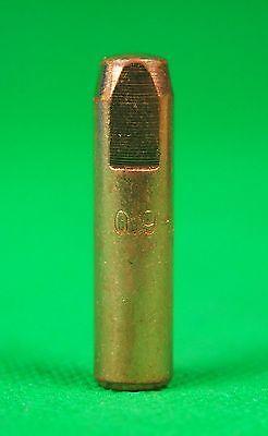 25Pcs 0.9mm MIG Tip  #7489 Bernard Style Mig Tips Push & Twist  32L x 7.9od 3