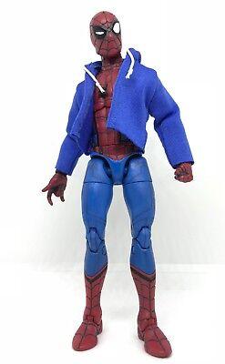 "NOX-ST-WH No Figure 1//12 white fabric hoodie for 6/"" ML Spiderman SHF Figma"