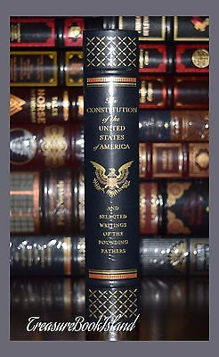 The Constitution of the United States America Leather Bound Sealed Collectible 2