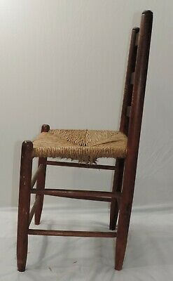 Hitchcock Chair Rush Seat With Stenciling 1930-1940S 6