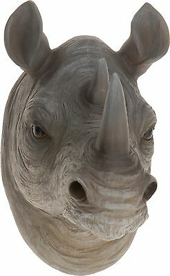 Large Wall Mount Hang Animal Head Ornament Decoration Realistic Display Resin 3