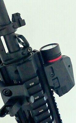 Combo Pistol LED Flashlight Red Laser Sight Fits 20mm Rail Pistol-Rifle 12