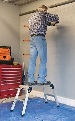 Builders Step Platform Full Size Work Plate Ladder Bench Decorators -500mm -4kg