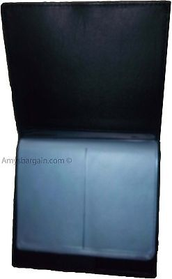 New 40 Card Holder Leather Business Cards ID Case Photo holder; ATM Cards BNWT 5