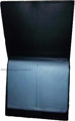 New 40 Card Holder Leather Business Cards ID Case Photo holder; ATM Cards BNWT 9