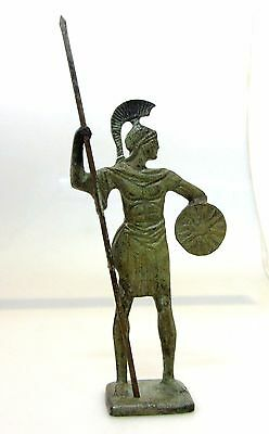 Ancient Greek Bronze Museum Statue Replica Of Alexander the Great Macedonian