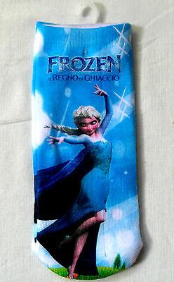 Frozen Ankle Socks - for Girls - 4 DESIGNS - NEW 4