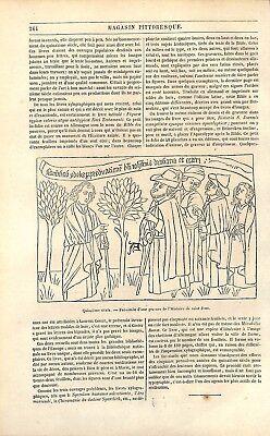 Livres Images Incunable Xylographique Tabellaire Bible Des