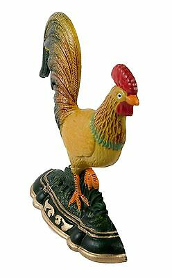 Door Stop Rooster Cast Iron SREDA Large Decorative Stopper Figurine Doorstop 2