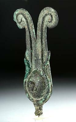Rare Egyptian Bronze Atef Crown Lot 4B