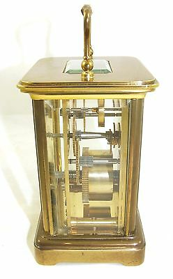 Wonderful Swiss Brass Carriage Clock : MATTHEW NORMAN LONDON SWISS MADE 8 • £375.00