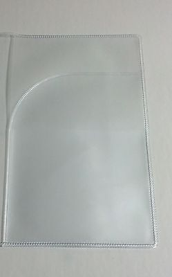 Canadian Canada Clear Plastic Vinyl Passport Cover Protector Holder 8