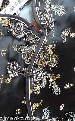 Camicia Blusa Stile Orientale Rayon Poliestere Altezza 63 Interascel 44 Vita 40 5