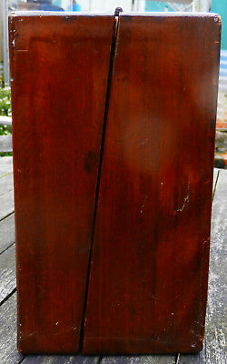 Antique wooden writing slope (No Key) 3