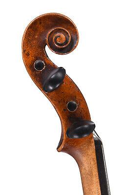 Historic violin by Johann Christoph Merz, Klingenthal 1826   (old, antique 4