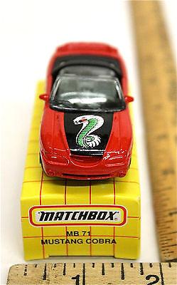 24 Vintage 1993 Matchbox Chevrolet Corvette T-Top MB 58 Mattel Diecast w//Box NIB