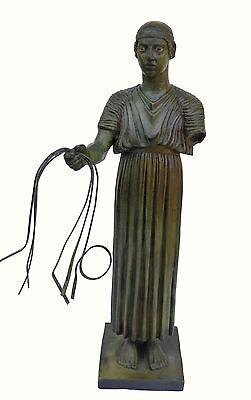 Charioteer Bronze statue of Delphi Ancient Greek reproduction sculpture artifact 7