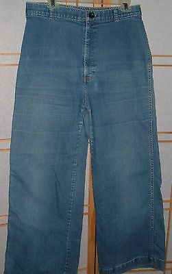 vintage LEVI STRAUSS white label JEANS womens 33x30 elastic back high waist